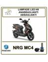PIAGGIO NRG MC4 LAMPADE LED ANABBAGLIANTI H8 M1