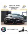Alfa Romeo 159 lampade led H7 abbaglianti 20000 lm 90 w