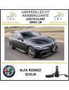 Alfa Romeo Giulia lampade led h7 anabbaglianti lenticolare 20000 lm serie f3