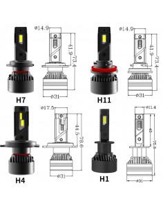 HONDA HR-V II H4 LUCI LED...