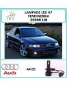 Audi A4 b5 lampade led h7 fendinebbia 20000 lm canbus