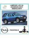 COPPIA DI LUCI LED H4 ABBAGLIANTI-ANAB. OPEL FRONTIERA B 20000 LM