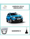 Dacia Sandero ii lampade led h1 abbaglianti 16000 lm canbus