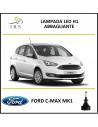 Ford c max lampade abbagliante 16.000 lm canbus luce bianca