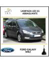h1 lampade led 8000 lm abbaglianti Ford Galaxy mk2