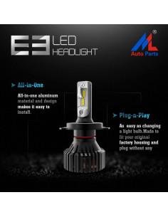 KIA RIO II LAMPADE LED H4...