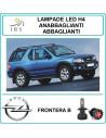 Opel Frontera b lampadine led h4 abbaglianti-anabb. 16000 lm canbus