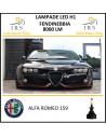 Alfa Romeo 159 kit lampade led H1 8000 lm canbus