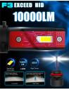 kit lampade led H1 serie f3 fendinebbia 20000 lm 90 w per Alfa Romeo 159