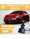 abbaglianti LED Alfa romeo giulietta