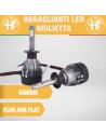 Abbaglianti LED Alfa romeo Giulietta 10.000 LM