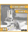Lampadine LED H4 13.000 LM specifiche per moto