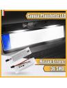 Coppia placchette targa LED canbus