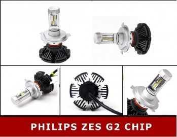 LAMPADE LED H4  SERIE 7S...