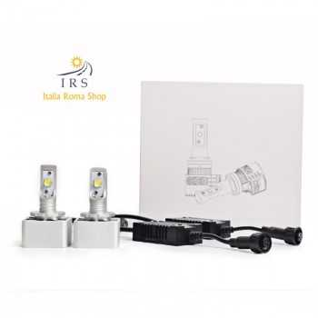 H7 KIT DUE LAMPADE LED SPECIFICHE PER FARI LENTICOLARI 12000 LM 6500K