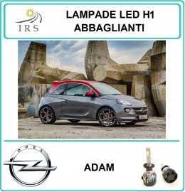 OPEL ADAM LAMPADE LED H1...