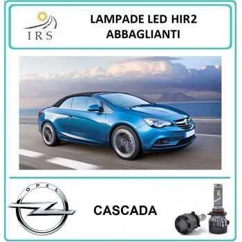 OPEL CASCADA LAMPADINE LED...