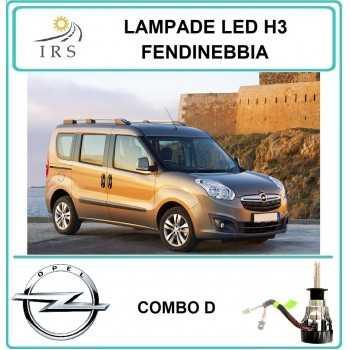 COPPIA DI LAMPADE LED H3...