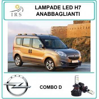 OPEL COMBO D LUCI LED H7...