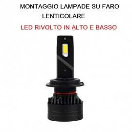 KIT lampade FULL LED H7 PER...