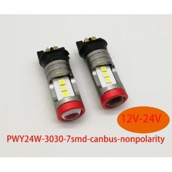 PW24W LAMPADA LED PER AUTO...