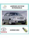 TOYOTA AVENSIS MK2 P21W LAMPADINA LED AUTO A 33 LED RETROMARCIA