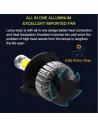 h15 lampada led abbagliante ford focus mk3 restyling
