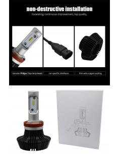 LAMPADINE LED H4 CITROEN C2...