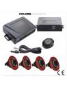 Audi kit sensori con regolazione profondità e cicalino colore nero