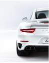kit bianco sensori parcheggio per auto filo paraurti con display