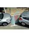 kit sensori parcheggio per auto argento con cicalino