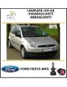 Ford Fiesta mk5 lampade led h4 abbagliante anabbagliante 16.000 lm