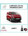 H4 luci led Citroen Jumpy anabbagliante abbagliante