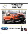 Lampade led anabbagliante abbagliante h4 Ford Ecosport