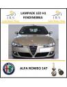 Alfa Romeo 147 lampada led H1 fendinebbia 5000 lm