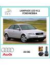 Audi A4 B6 lampade led Auto fendinebbia h11 10000 lm