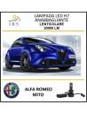 ALFA ROMEO MITO LAMPADE LED H7 F3 ANABBAGLIANTI LENTICOLARE 20000 LM 90W CANBUS