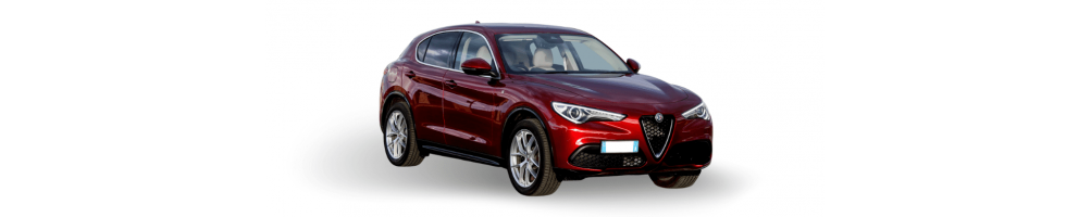 Alfa Romeo Stelvio, Lampade led, sensori di parcheggio, prodotti per lucidare