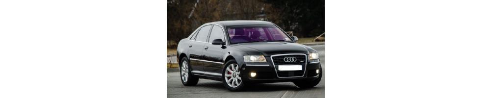 Audi A8 D3 - Lampade LED, Sensori parcheggio, interni LED