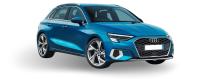 Audi A3 8Y - Lampade LED, Sensori parcheggio, interni LED